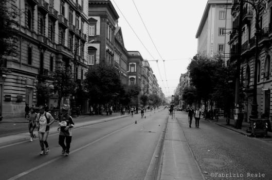 maratona di napoli foto archivio